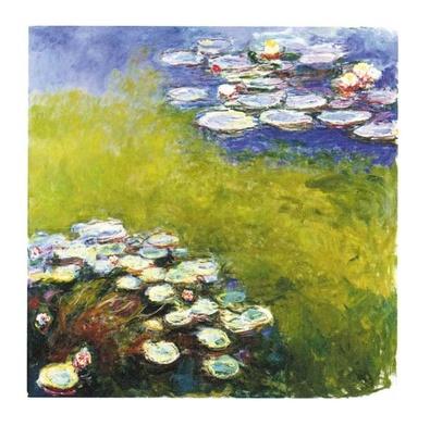 Claude Monet Seerosen I