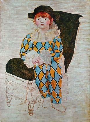 Pablo Picasso Der Sohn des Kuenstlers  1924