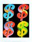 Warhol andy four dollar 4 1982 medium