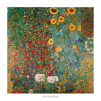 Gustav Klimt Il giardino di compagna
