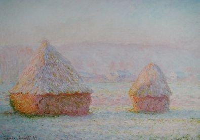 Claude Monet Heuschober 89