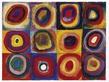 Kandinsky wassily farbstudie quadrate l