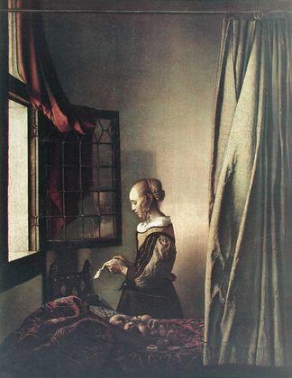 Jan Vermeer Brieflesendes Maedchen