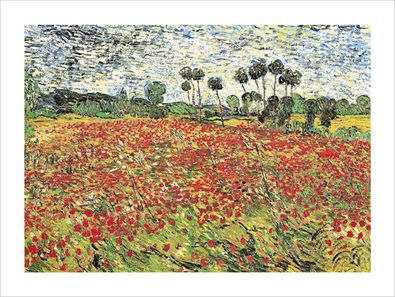 Vincent van Gogh Field of Poppies