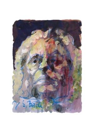 Armin Mueller-Stahl Portrait Johann Sebastian Bach