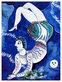 Marc Chagall Der Akrobat (klein)