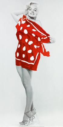 Bert Reisfeld Marilyn at the Beach 1953