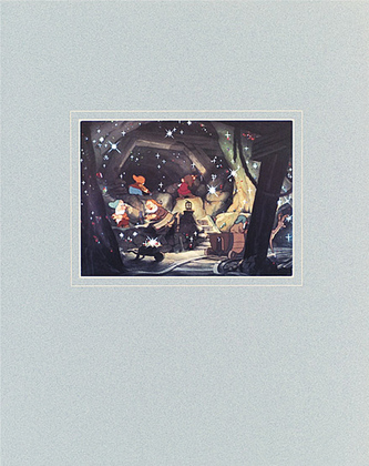Walt Disney (Snow White and the Seven Dwarfs) The Dwarfs' Mine