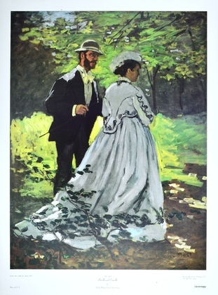 Claude Monet Bazille and Camille