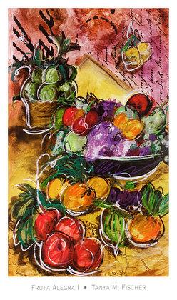 Tanya M. Fischer 2er Set 'Fruta Alegra I-II'