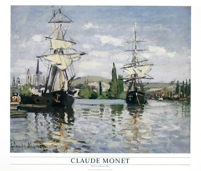 Claude Monet The Sein at Rouen