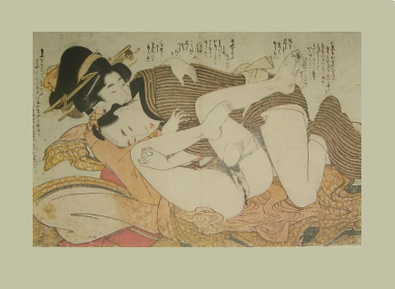 Kitagawa Utamaro Erotische Holzschnitte III