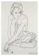Schiele egon donna accovacciata medium