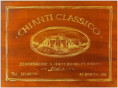 Angela Staehling 4er Set 'Chianti Classico' + 'Zinfandel' + 'Riesling' + 'Shiraz'