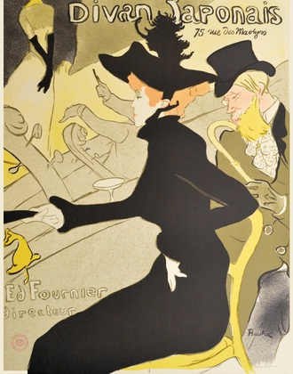 Henri Toulouse-Lautrec Divan Japonais