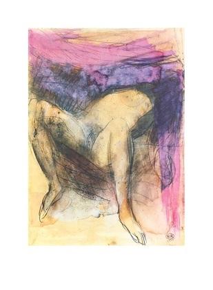 Auguste Rodin Femme nue sur le dos jambes
