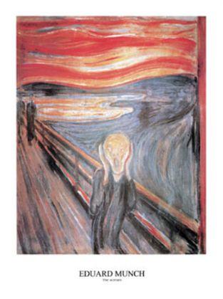 Edvard Munch Der Schrei (80x60)