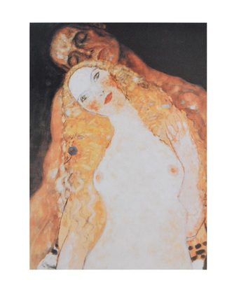 Gustav Klimt Adamo ed Eva