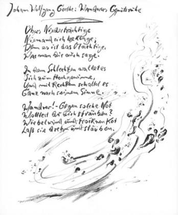 Guenter Grass Goethe No. 19