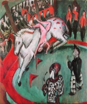 Ernst Ludwig Kirchner Zirkusreiterin