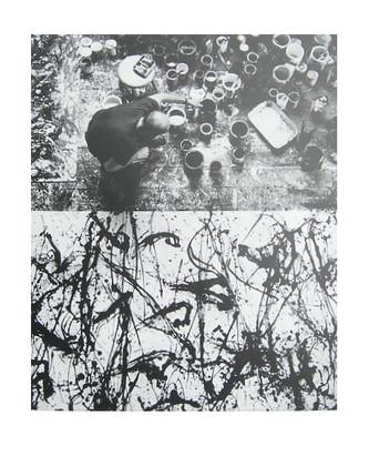 Burckhardt Jackson Pollock 2 1950 (Springs Long Island New York) Painting Number 32