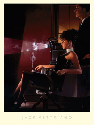 Jack Vettriano An Imperfect Past