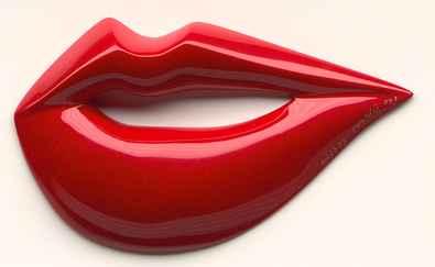 Rosalie Mund Rot