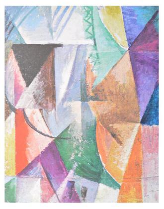 Robert Delaunay Ein Fenster