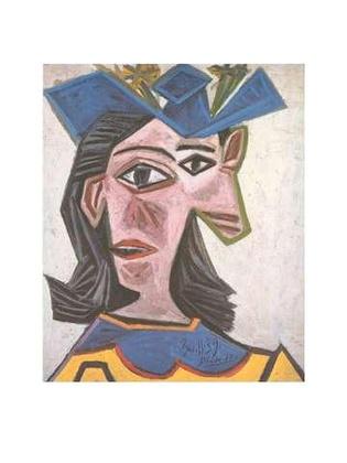 Pablo Picasso Frauenbueste mit Hut