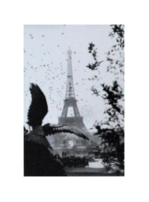 unbekannter Kuenstler Eiffelturm Paris
