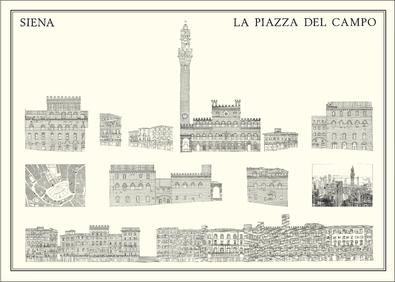 Siena La Piazza del Campo