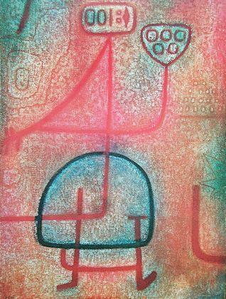 Paul Klee Die schoene Gaertnerin