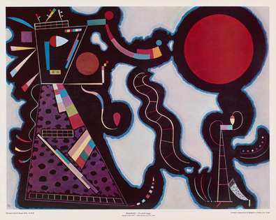 Wassily Kandinsky Le cercle rouge