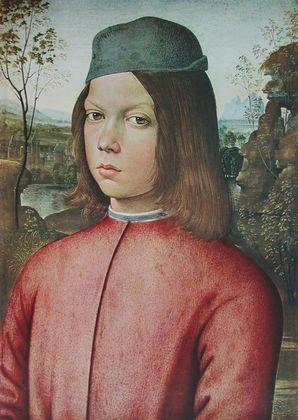Pinturicchio Bildnis eines Knaben