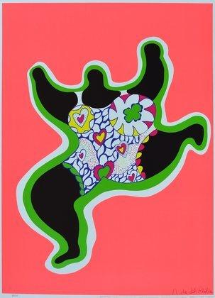 Niki de Saint Phalle Leaping Nana