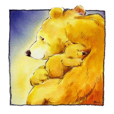 Makiko 2er Set 'Mother Bears Love I + IV'