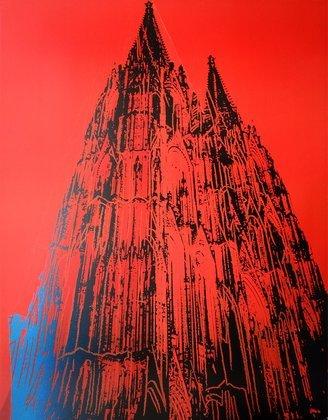 Andy Warhol Koelner Dom (rot)