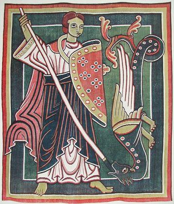 Unbek Meister Erzengel Michael  der Drachentoeter