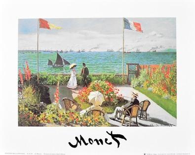 Claude Monet Terrazza sul mare a Saint-Adresse