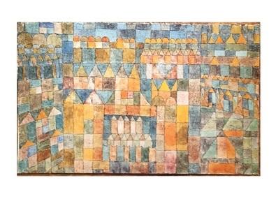 Paul Klee Tempelviertel von Pert