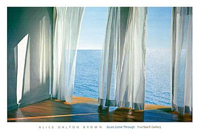Alice Dalton Brown Durchdringes Blau