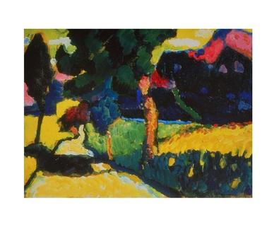 Wassily Kandinsky Murnau, Sommerlandschaft