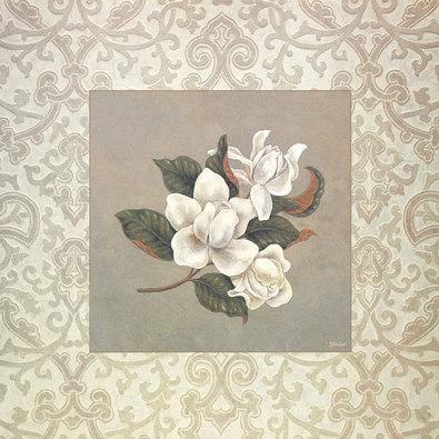 Xavier 2er Set 'Three Blossoms' + 'Four Magnolias'