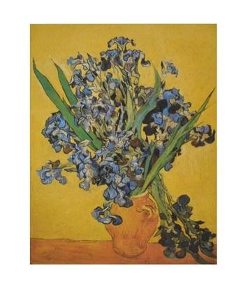 Vincent van Gogh Vase mit Schwertlilien