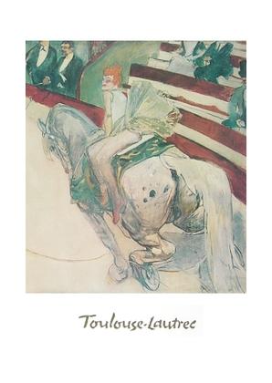Henri Toulouse-Lautrec Reiterin im Zirkus Fernando