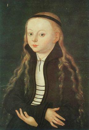 Lucas Cranach Bildnis eines jungen Maedchens