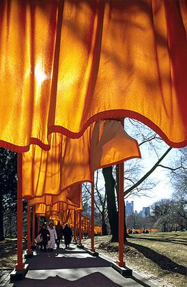 Christo und Jeanne-Claude The Gates, Foto 51 von Wolfgang Volz