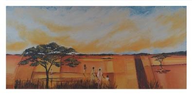 Gerard emilie bhundu landscape ii large