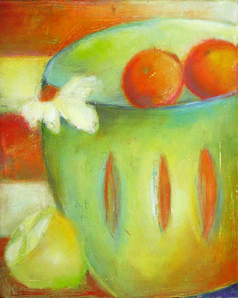 Juliane Sommer Two Oranges looking