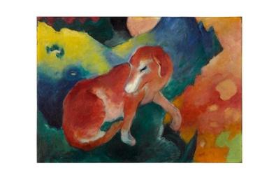 Franz Marc Der rote Hund